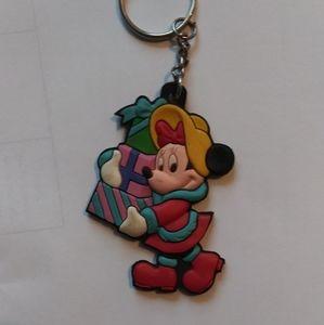 Disney Christmas Keychain